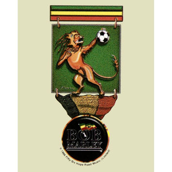 Bob Marley - Lion Cup Logo Clear Decal