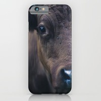 Cow iPhone & iPod Case by Mixed Imagery