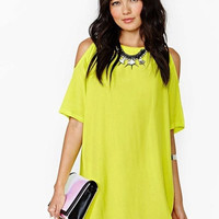 2015 European And American Summer Hot Sale Chiffon Off Shoulder Short Sleeve Loose One-Piece Dress = 1958141636