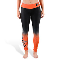 Baltimore Orioles Womens Gradient Official MLB Leggings