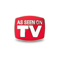 As Seen On TV Lapel Pin