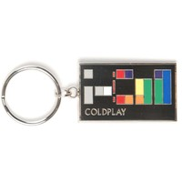 Coldplay Colors Metal Key Chain Silver