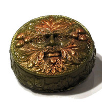 Green Man Fantasy Gift Soap in Any Color and Scent