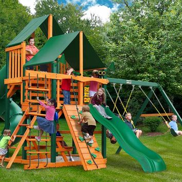 Gorilla Playsets Great Skye I Supreme CG Wooden Swing Set