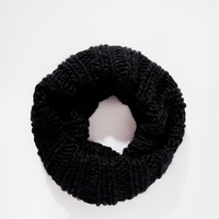 Pieces | Pieces Oversized Chunky Infinity scarf Scarf at ASOS
