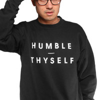 Adapt The Humble Thyself Crewneck