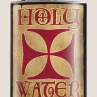 Flask - Holy Water, Stainless Steel Flask, Trixie and Milo, Made in the USA | Toad Hollow