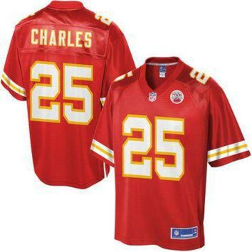 PEAPYD9 NFL Pro Line Mens Kansas City Chiefs Jamaal Charles Big & Tall Team Color Jersey