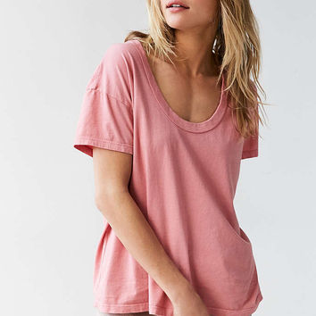 Truly Madly Deeply Tori Scoopneck Tee - Urban Outfitters