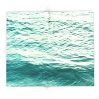 Society6 Blue Water Blanket