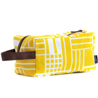 Maze Recycled Canvas Travel Case