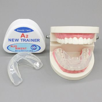 Hot No Odor Transparent Teeth Whitening Dental Orthodontic Dental Trainer Dental Alignment Appliance Tooth Rehabilitation Care