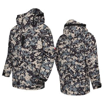 "New Premium ""SouthPlay"" Winter Season Waterproof 10,000mm Warming Ski & Snowboard  Black Camo Army Military Jackets"