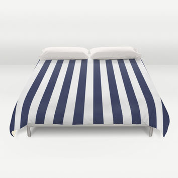 Best Navy Stripe Duvet Products On Wanelo