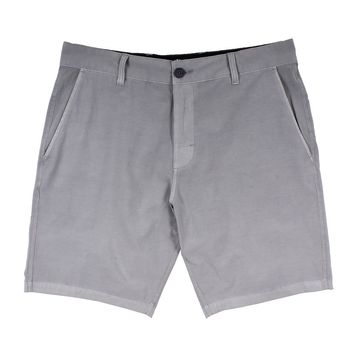 Bocce Stretch Short in Grey by Waters Bluff
