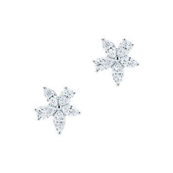 Tiffany & Co. - Tiffany Victoria®:Mixed Cluster Earrings