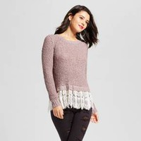 Women's Lace-Trim Sweater - Xhilaration™ (Juniors')