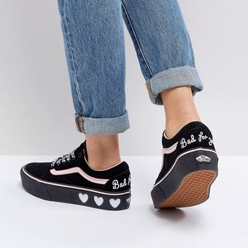 Vans X Lazy Oaf Old Skool Trainers at asos.com