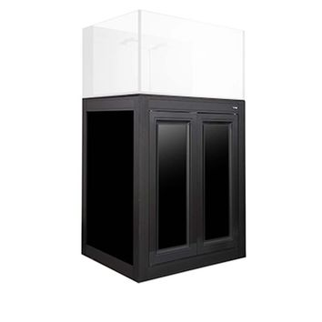 Innovative Marine APS Cabinet Stand with Matte Black Finish for Nuvo 50 Aquarium (Stand Only)