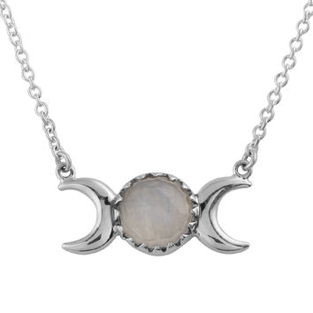 Moons Embrace Necklace