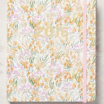 Lulie Wallace Tiny Blossoms 2016 Planner in Orange Size: One Size House & Home