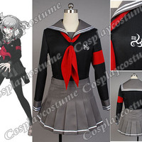 Super Dangan Ronpa 2 Danganronpa Peko Pekoyama Cosplay Costume Dress