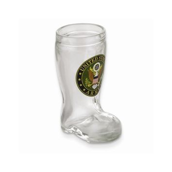 US Army Mini Boot Shot Glass - Etching Personalized Gift Item