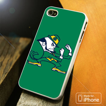 Notre Dame Fighting Irish Green iPhone 4(S),5(S),5C,SE,6(S),6(S) Plus Case