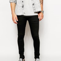 ASOS | ASOS Extreme Super Skinny Jeans In Black at ASOS