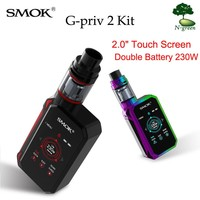 SMOK Vape Kit G-Priv II Electronic Kit Cigarette With 230W Mod 4ml X-BABY Tank