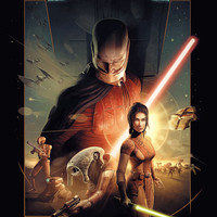 Star Wars: Knights of the Old Republic video game poster 18x24