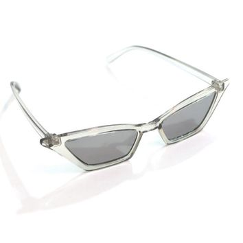 Clear Retro Sunnies