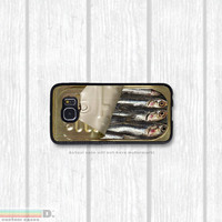 Sardines, Custom Phone Case for Galaxy S4, S5, S6
