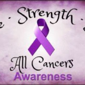 All Cancers Hope Strength Love Awareness License Plate