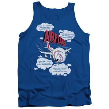 Airplane - Picked The Wrong Day Adult Tank