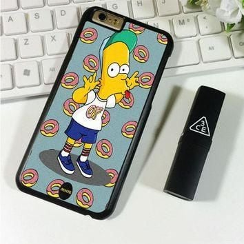 of supreme Bart Simpsons iPhone 6 Plus | 6S Plus Case Planetscase.com