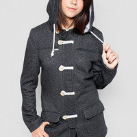 Girls The Trenches Jacket - Glamour Kills Clothing