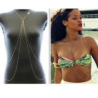 Double Layer Romantic Body Chains
