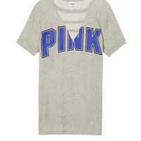 Campus Strappy Cutout Tee - PINK - Victoria's Secret