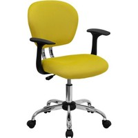Flash Furniture Mid-Back Mesh Task Chair with Arms - Walmart.com