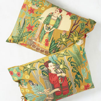 Paint Me a Picture Pillow Sham Set | Mod Retro Vintage Decor Accessories | ModCloth.com