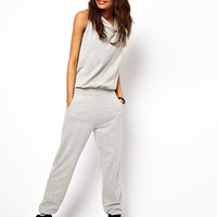ASOS | ASOS Sleeveless Onesuit with Hood at ASOS