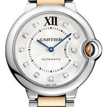 Cartier - Ballon Bleu 36mm - Steel and Pink Gold