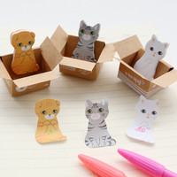 Kitty Sticky Notes