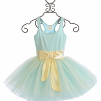 Ooh La La Couture Blue Ice Tie Bow Dress