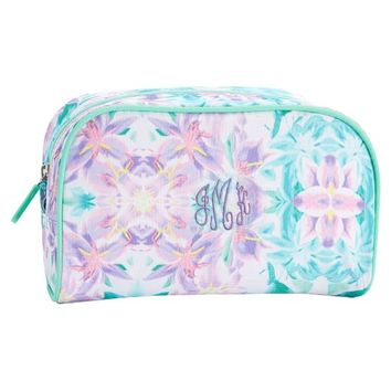 Jet Set Kaleidoscope Floral Medium Toiletry Bag