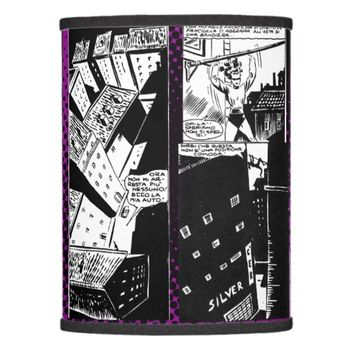 La Dama Di Picche, Night Scene Lamp Shade