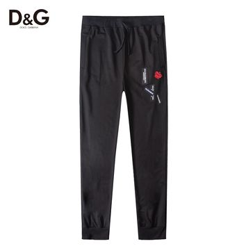 Boys & Men Dolce&Gabbana D&G Fashion Casual Pants Trousers Sweatpants