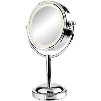 Vivitar(R) MR-2100C Double Sided Lighted Vanity Mirror