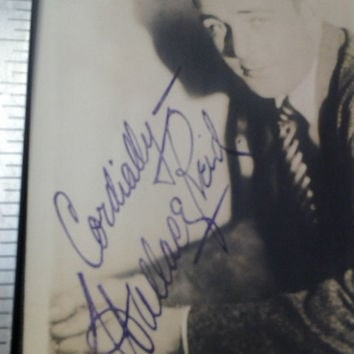 SALE REDUCED PRICE Wallace Reid Heart Throb Silent Screen Star from  the 20's .Signed